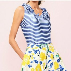 RSVP BY TALBOTS STRIPED SLEEVELESS TOP